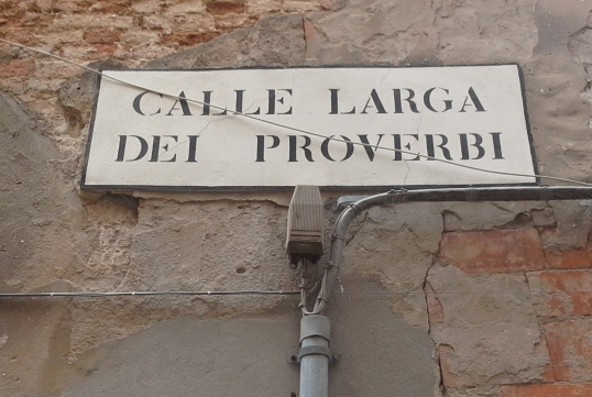 Calle Larga dei proverbi