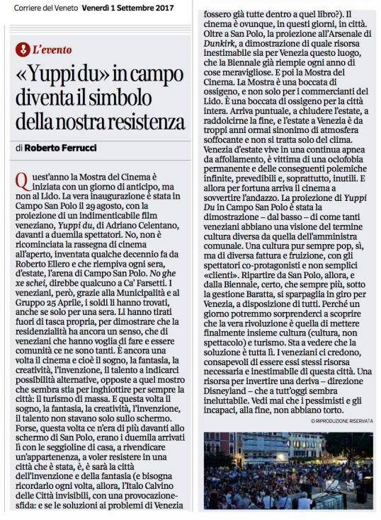 1 settembre Corriere