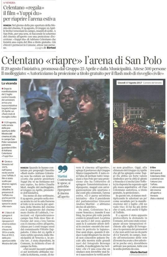 17 agosto 17 Corriere