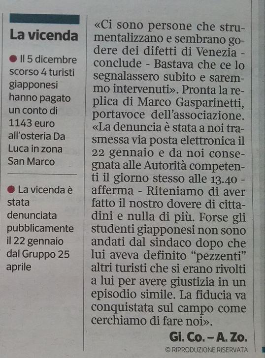 28 gennaio 18 Corriere