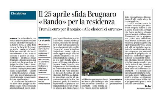 Corriere 4 gennaio