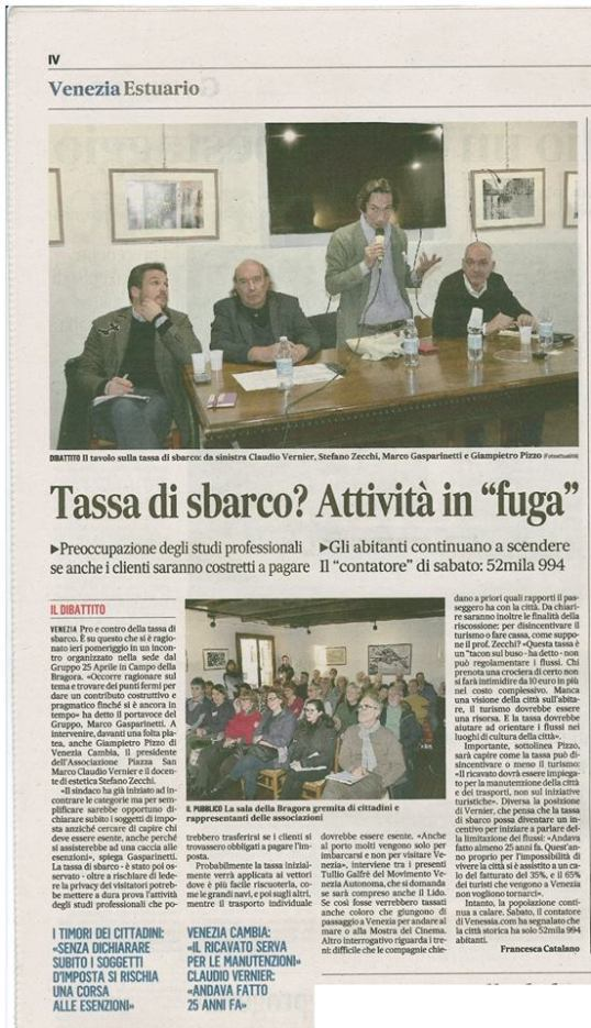 21 jan Gazzettino