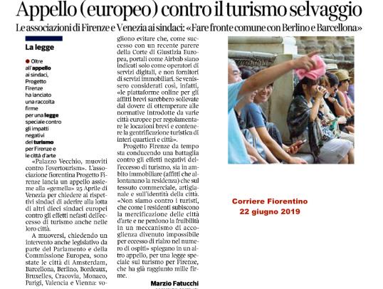 22 junio Corriere fiorentino